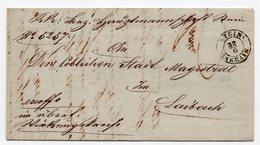 1852 SLOVENIA, KAMNIK TO LAIBACH,  STEIN 22.06.1852, AUSTRIA, AUSTRO HUNGARIAN EMPIRE - Slovenia