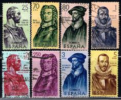 4E 536 //  YVERT 1047 â 1054 // EDIFIL  1374 â 1381 // 1961 - 1931-Hoy: 2ª República - ... Juan Carlos I