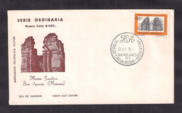 Argentina - 1978 - FDC - Ruines De La Mission Jésuite De San Ignacio - Misiones - Cristianesimo