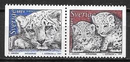 Suède 1997 1971/1972 Neufs Léopards Des Neiges - Unused Stamps