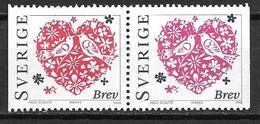 Suède 1998 2019/2020 Neufs Saint Valentin - Suecia