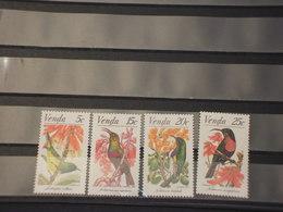 VENDA - 1981 UCCELLI/FIORI 4 VALORI - NUOVI(++) - Venda