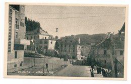 YUGOSLAVIA, SLOVENIA, POST WWII, POSTOJNA, VILHARJEV SQUARE, ILLUSTRATED POSTCARD, USED - Yugoslavia