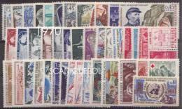 France - Année Complète Neuve 1970 ** Comprenant 42 Timbres - 1970-1979