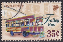 Specimen, Singapore Sc784 Early Transport, Trolley Bus - Bussen