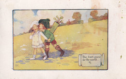 Golf The Best Game In The World Antique Postcard - Golf