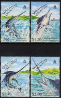 Salomonen MiNr. 958/61 ** Schwert- Und Fächerfische - Salomoninseln (Salomonen 1978-...)