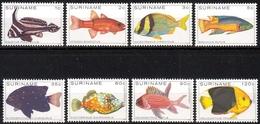 Surinam MiNr. 869/76 ** Fische - Suriname