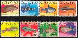 Surinam MiNr. 827/34 ** Tropenfische - Suriname