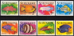 Surinam MiNr. 771/78 ** Tropenfische - Suriname