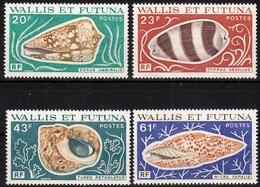Wallis Und Futuna MiNr. 279/82 ** Meeresschnecken - Wallis Und Futuna