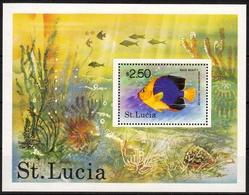 St. Lucia MiNr. Bl. 14 ** Fische - Sonstige - Afrika