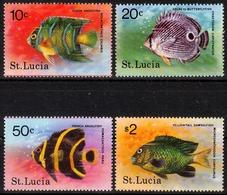 St. Lucia MiNr. 431/34 ** Fische - Sonstige - Afrika