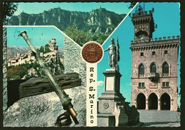 San Marino  -  Mehrbild-Ansichtskarte Ca. 1970    (11731) - San Marino