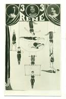 Cyrk Circus Cirque Zirkus Rene Lwów Ca 1930 - Actors