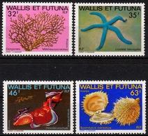 Wallis Und Futuna MiNr. 430/33 ** Meeresfauna Des Südpazifiks - Wallis Und Futuna