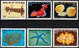 Wallis Und Futuna MiNr. 361/66 ** Meeresfauna Des Südpazifiks - Wallis Und Futuna
