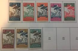 NEW CALEDONIA - MH* - 1928 - # J19/26 - Portomarken