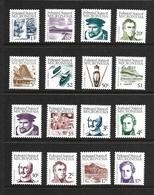 MICRONESIE 1984 COURANTS  YVERT N°1/16 NEUF MNH** - Micronésie