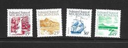 MICRONESIE 1988 COURANTS  YVERT N°57/60 NEUF MNH** - Micronésie