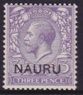 Nauru 1916 Nauru Ovpt SG 7 Mint Hinged - Nauru