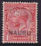 Nauru 1916 Nauru Ovpt SG 2 Used - Nauru