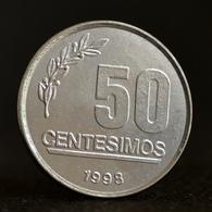 Uruguay 50 Centésimos 1994-98. Coin Km106 - Oeganda