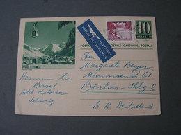 Bildkarte Klosters 1961 - Ganzsachen