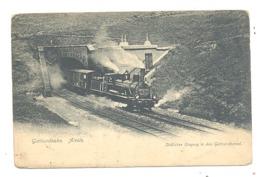 SUISSE - Gotthardbahn  AIROLO - 1909 Train à Vapeur (b258) - TI Tessin