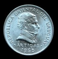 Uruguay 50 Centésimos 1965. UNC Coin Km45 - Uganda
