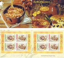 Europa CEPT 2005 - Bulgaria, Gastronomia. Libretto MNH** Integro - Europa-CEPT