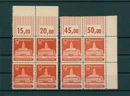 SBZ 1945 Nr 65a+b Postfrisch (203752) - Sowjetische Zone (SBZ)
