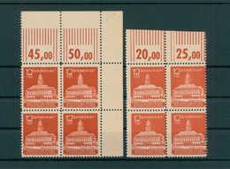 SBZ 1945 Nr 65a+b Postfrisch (203757) - Sowjetische Zone (SBZ)