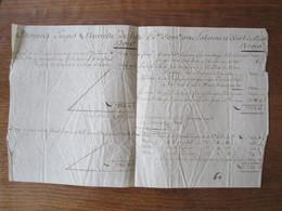 DUNKERQUE LE 15 VENDEMIAIRE AN 7 LA BENNE & ALARD COMPTE CITOYENS EMPIS & NEUVILLE DE LILLE - Manuscripts