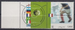 Frankreich 3620/21 ** Fußballweltmeister Im 20. Jahrhundert - Unused Stamps