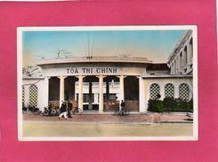 VIET-NAM, HANOÏ, Mairie, 1954, Animée, (Agence Des Colonies) - Vietnam