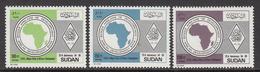 1989 Sudan ADB Development Bank Complete Set Of 3  MNH - Soedan (1954-...)