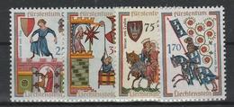 LIECHTENSTEIN  Xx  1963   MI 433-36  Postfrisch  -  Vedi  Foto ! - Liechtenstein