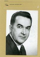 JEAN VERDIER  Prefet De Paris En 1974 - Identified Persons