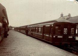 MEISTHAM TRAGEDY RAILWAY CHEMIN DE FER EISENBAHN 15*11CM Fonds Victor FORBIN 1864-1947 - Trenes