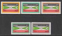 1991 Sudan Revolution Flags  Complete Set Of 5  MNH - Soedan (1954-...)