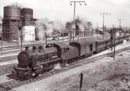 Unique 57 Carte Photo REDING Train En Partance Pour SARREBOURG - France