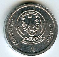 Rwanda 1 Franc 2003 KM 22 - Rwanda