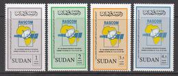 2007 Sudan RASCOM Satellite Complete Set Of 4  MNH - Soedan (1954-...)