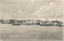 NICARAGUA SALUDES DE BUEFIELDS CARD - Nicaragua