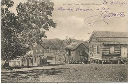 NICARAGUA OLD BANK BLUEFIELDS CARD - Nicaragua