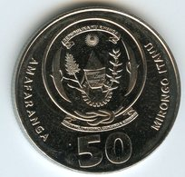 Rwanda 50 Francs 2011 UNC KM 36 - Rwanda