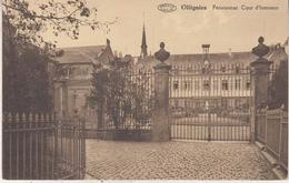 Ollignies - Pensionnat - Cour D' Honneur - Edit. Préaux, Ghlin - Lessines
