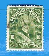(Us3) Ecuador °- 1925 - Président GARCIA MORENO.  Yvert. 239  -    . Used. - Ecuador