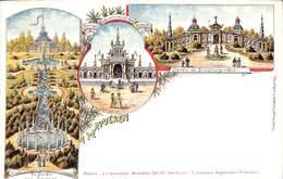 Tervueren - Litho Colorisée Multivues (Rosenblatt) - Tervuren